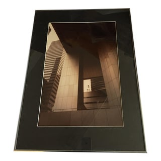 New York Architectural Sepia Tones City Corp Photo