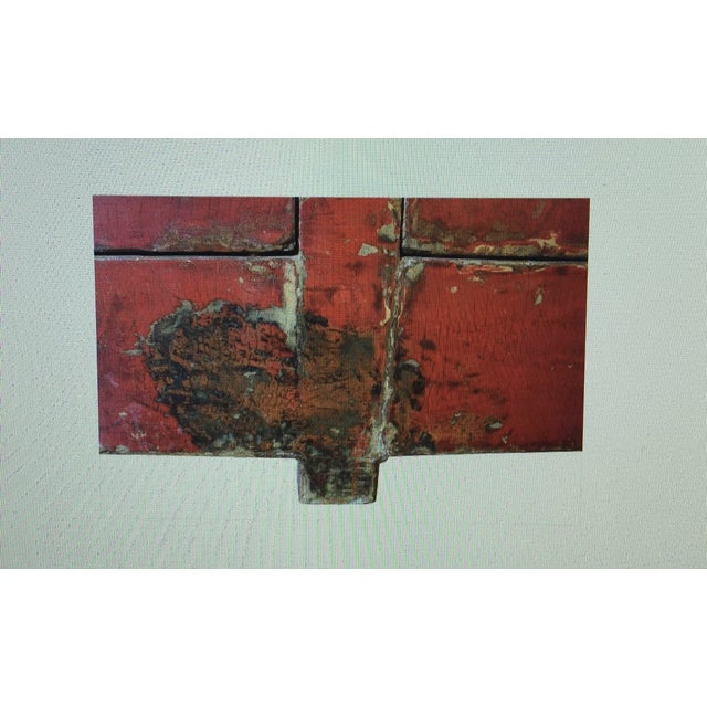 Antique Lacquered Chinese Sideboard - Image 7 of 10