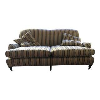 Crate & Barrel Fabric Sofa