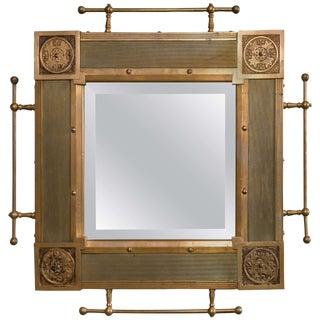 Traditional Bronze Architectural Mirror