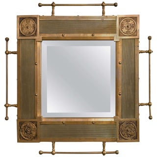 Traditional Bronze Architectural Mirror