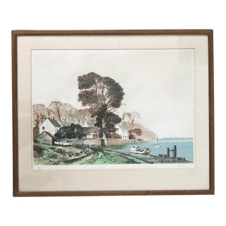 Vintage Mid-Century Roy Perry Landscape Painting