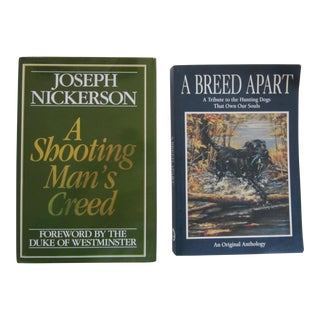 Shooting & Hunting Dog Books - a Pair