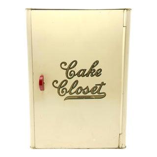 "Kreamer Tin ""Cake Closet"" Box"