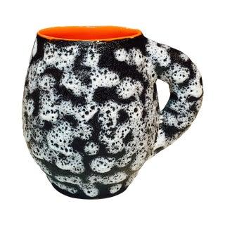 French Valurais Black & White Fat Lava Mug