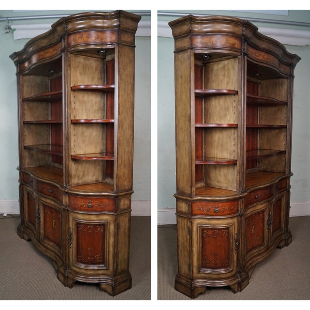 Hooker Serpentine Hutch-Style Credenza - Image 2 of 9