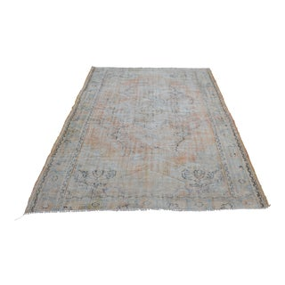 Handknotted Overdyed Turkish Carpet - 6′ × 8′9″