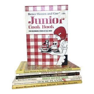 Vintage Better Homes & Gardens Cookbooks - Set of 7