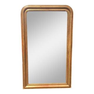 Antique Louis Phillipe Style Gilt-Wood Mirror