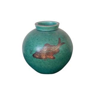 William Kåge Gustavsberg Argenta Vase #2