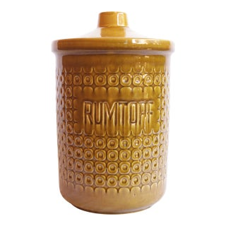 1970 Jasba German Rumtopf Jar