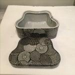 Image of Ceramic Modern Graphic Pattern Box