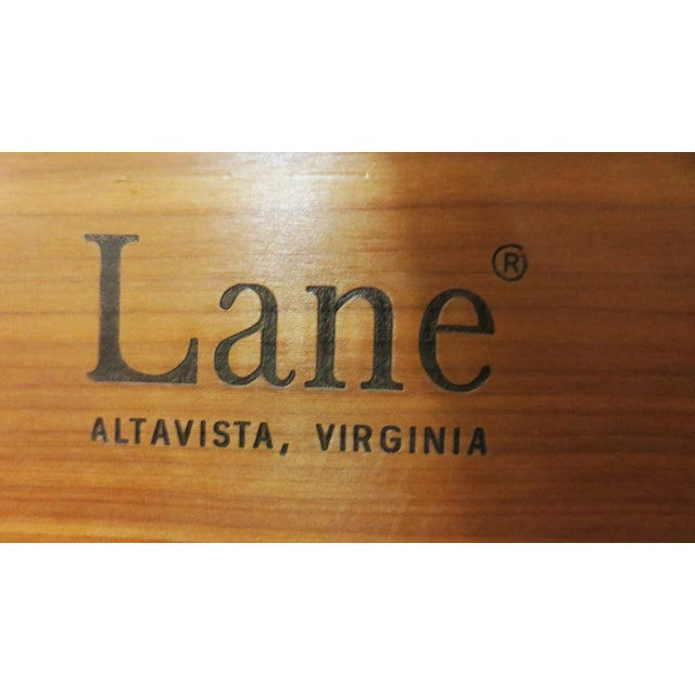 Image of Lane Low Paneled Cedar Chest
