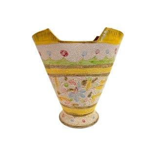 Mid Century 1960's Tapered Italian Vase
