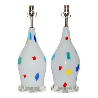Dino Martens Murano Patchwork Lamps