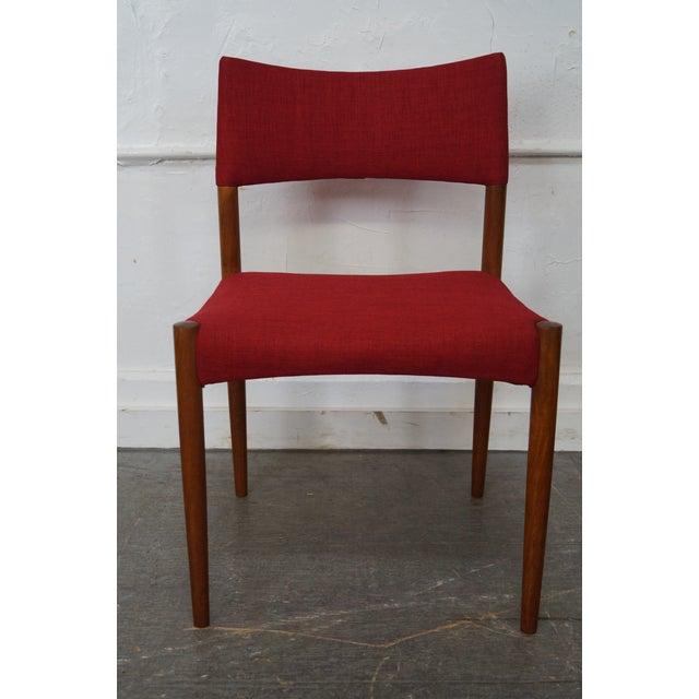 Vintage Danish Modern Teak Dining Chairs - Set of 8 - Image 9 of 11