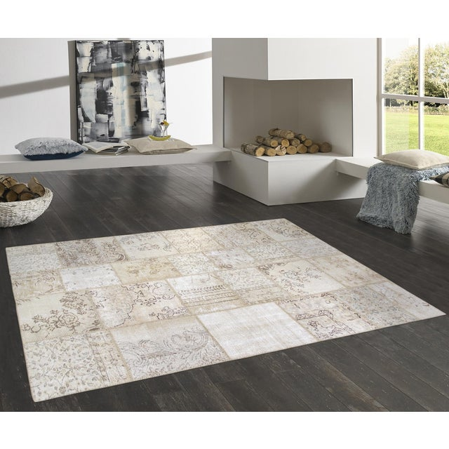 Pasargad Patchwork Collection Rug- 5' x 8' - Image 3 of 3