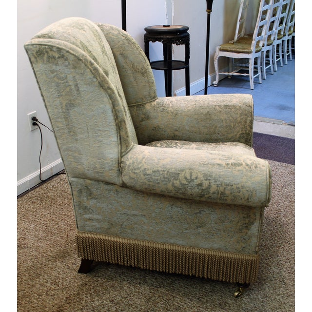 Drexel Heritage Lillian August Club Chairs - Pair - Image 4 of 11