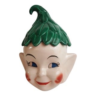 Shawnee Usa Elf Cookie Jar