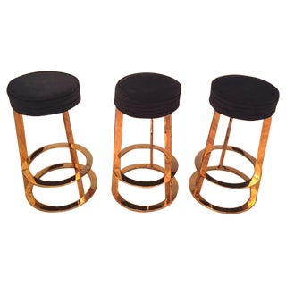 "Worlds Away ""Samson"" Counter Stools - Set of 3"