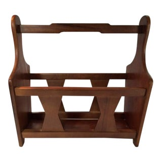 Hellerware Wood Magazine Rack