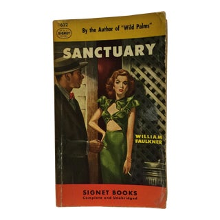 Sanctuary William Faulkner Signet Pulp 1949
