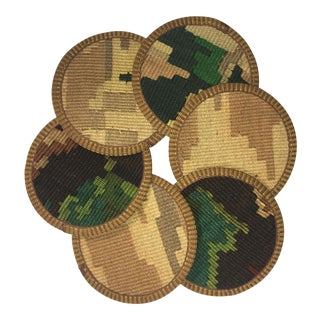 Kilim Coasters Set of 6 | Feray