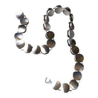 Georg Jensen by Nanna Ditzel Sterling Silver Modern Choker Necklace No. 124