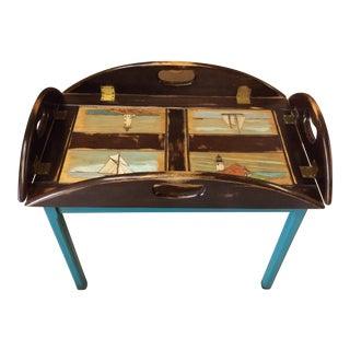 Nautical Butler's Tray Table