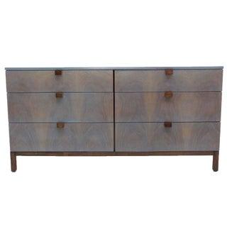 Milo Baughman Directional Walnut Dresser
