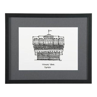 Fenway Park, Boston Framed City Print