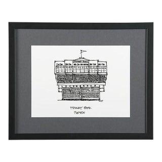 Fenway Park, Boston Framed City Print
