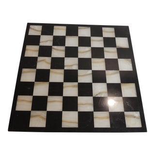 Square Onyx and Granite Chest Board