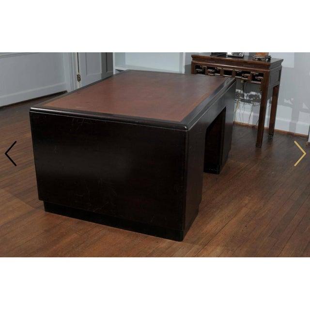 Art Deco Pedestal Desk - Image 7 of 7