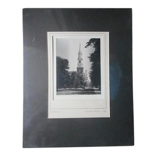 """Mid 20th C. Signed Fine Art Photograph-""""Covenant""""-J. Oliver Yeakle"""
