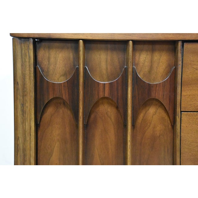 Kent Coffey Perspecta Walnut & Rosewood Dresser - Image 9 of 10
