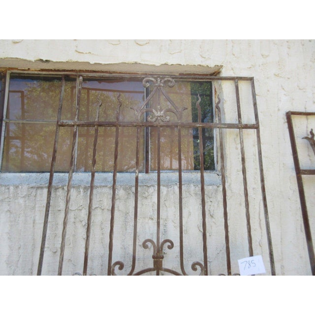 Antique Victorian Iron Gate or Garden Fence - Image 7 of 7