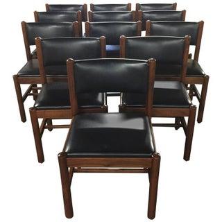 Danish Walnut Dining Chairs - Set of 12