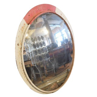 Convex Mirror from a Czech Mountain Road