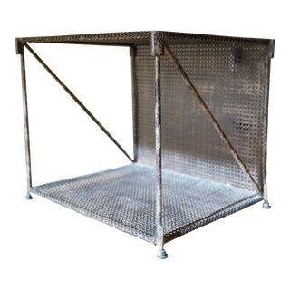 Restoration Hardware 1920's French Metal Side Table