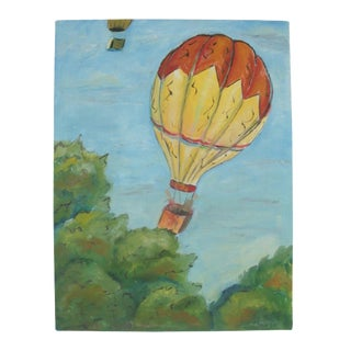 Hot Air Balloon Flight Painting