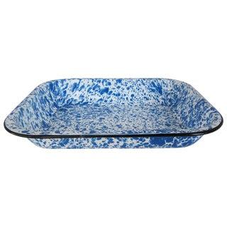 Vintage Spatterware Enamel Pan