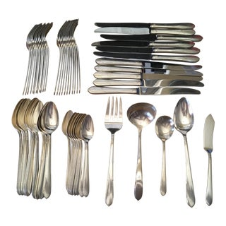 Community Plate Silverplated Flatware Set - 57 Piece