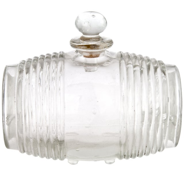 Vintage French Glass Cognac Barrel - Image 4 of 6