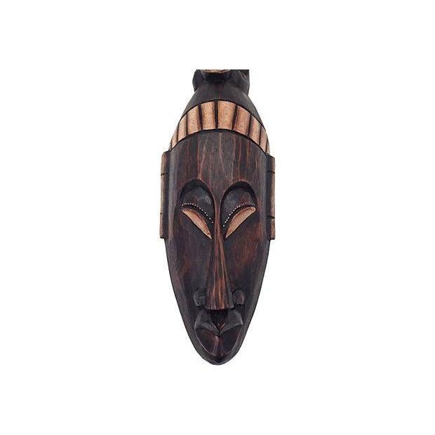 Balinese Elephant Headdress Wall Mask - Image 3 of 6