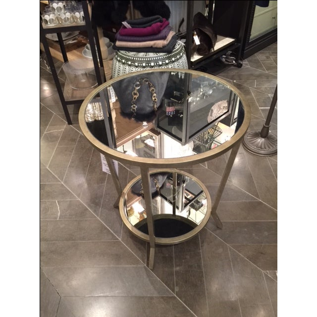 Julian Chichester Two Tiered Mirrored Table - Image 5 of 7