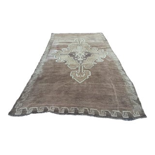 "Vintage Turkish Oushak Runner - 5'9""x11'7"""