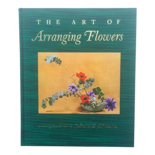 "Shoza Sato Vintage Mid-Century 1965 "" The Art Of Arranging Flowers"" Design Book"