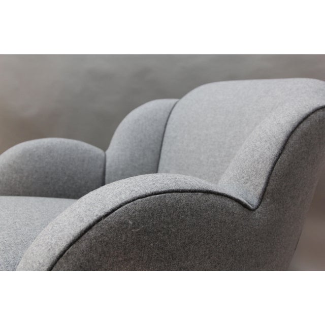 Art Deco Upholstered Chairs - A Pair - Image 7 of 9