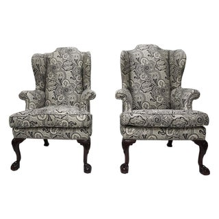 George II Period Wing Chairs